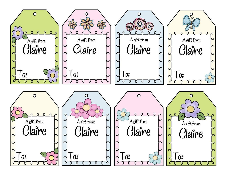 Printable Gift Tags Customized Free Printable Gift Tags Personalized - Free Printable Customizable Gift Tags