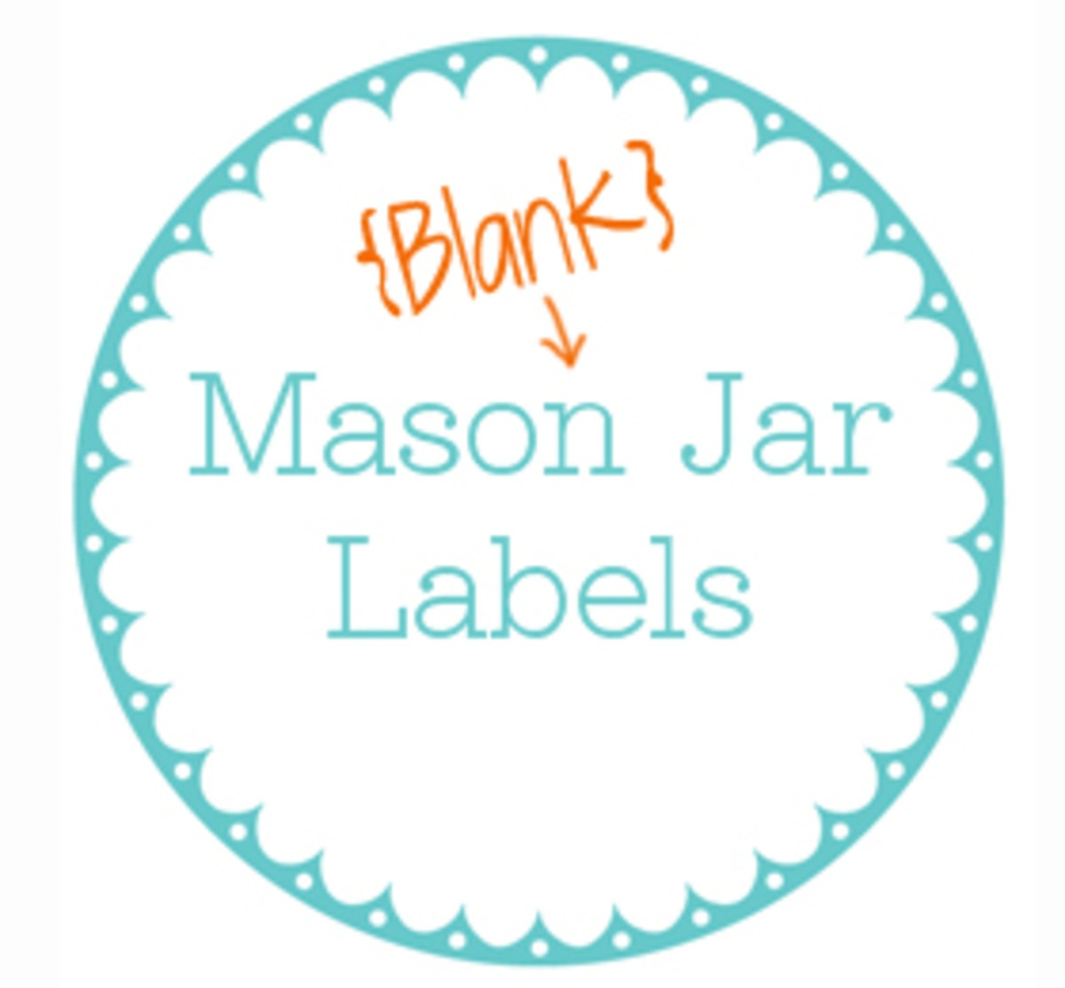 Printable Jar Label Template - Today's Mama - Free Printable Jar Label Templates