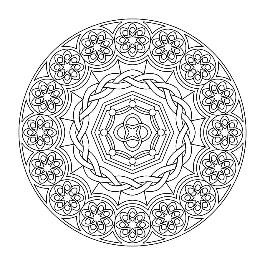 Printable Mandalas (The Boys Love To Color These)   Kids & Family - Free Printable Mandala Patterns
