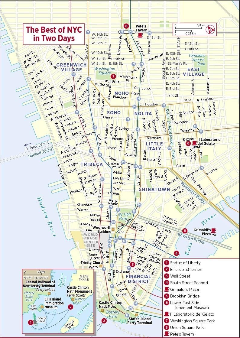 Printable Map Of New York Nyc Subway Map Free Manhattan Maps Ride - Free Printable Map Of Manhattan