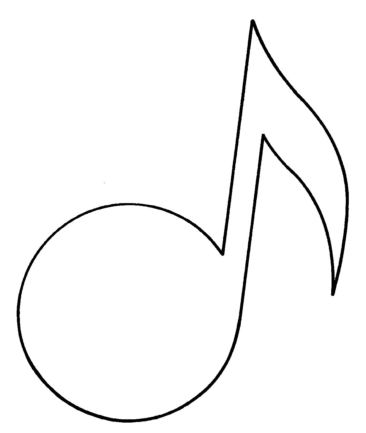 Printable Music Notes | Free Download Best Printable Music Notes On - Free Printable Music Notes Templates