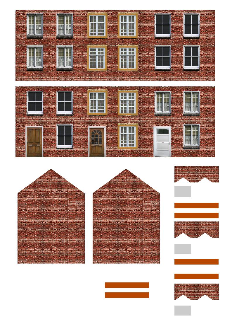 Printable N Gauge Buildings 8 Free Printable Ho Scale Buildings - Free Printable Model Railway Buildings