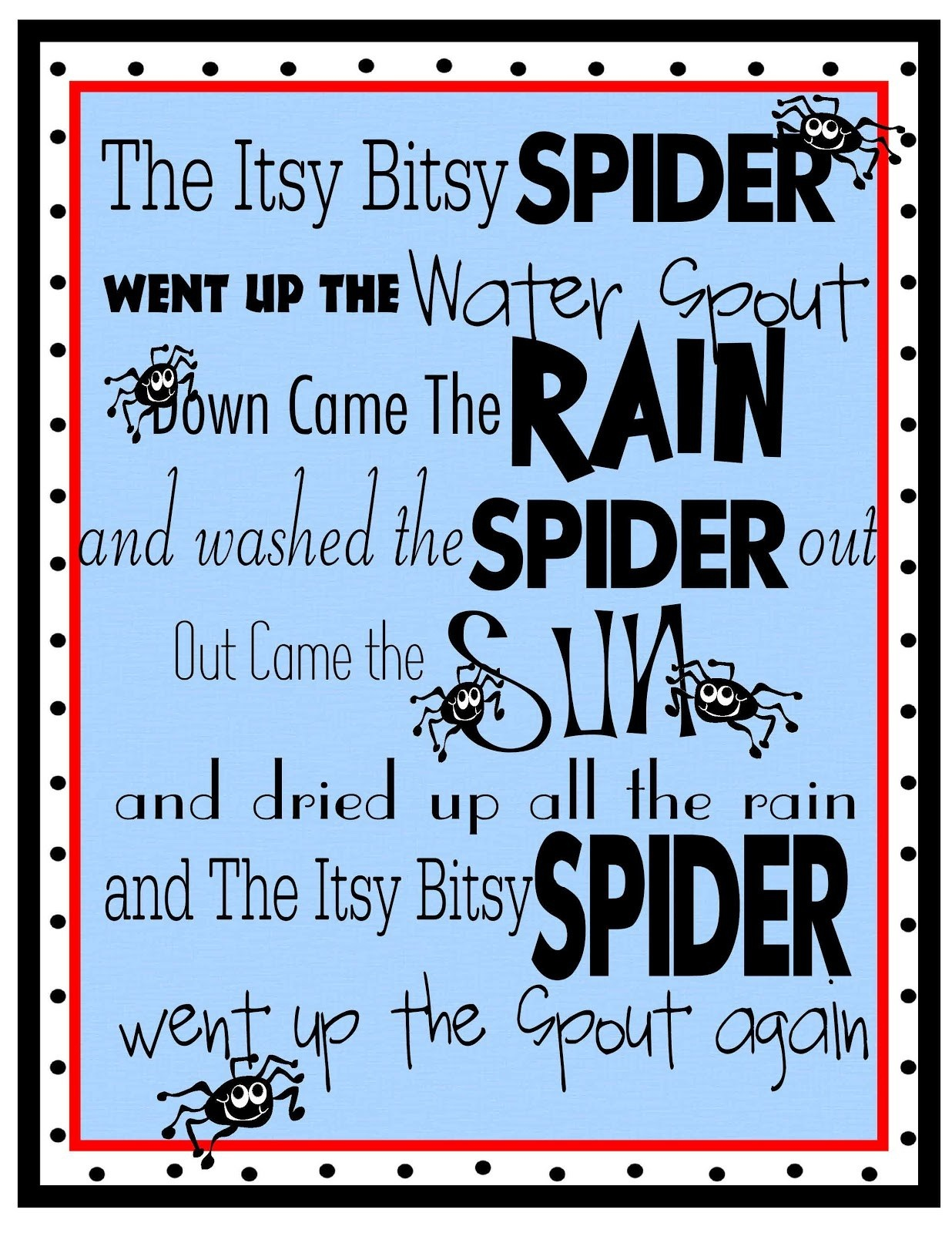 Printable Nursery Rhymes – Prntbl - Free Printable Nursery Rhymes