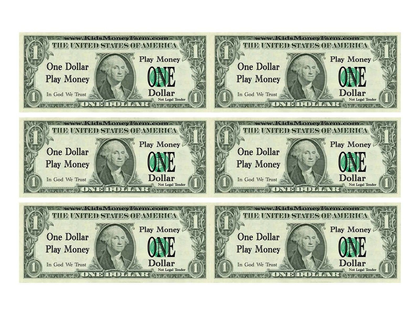 Printable Play Money For Kids | Printable | Printable Play Money - Free Printable Play Money