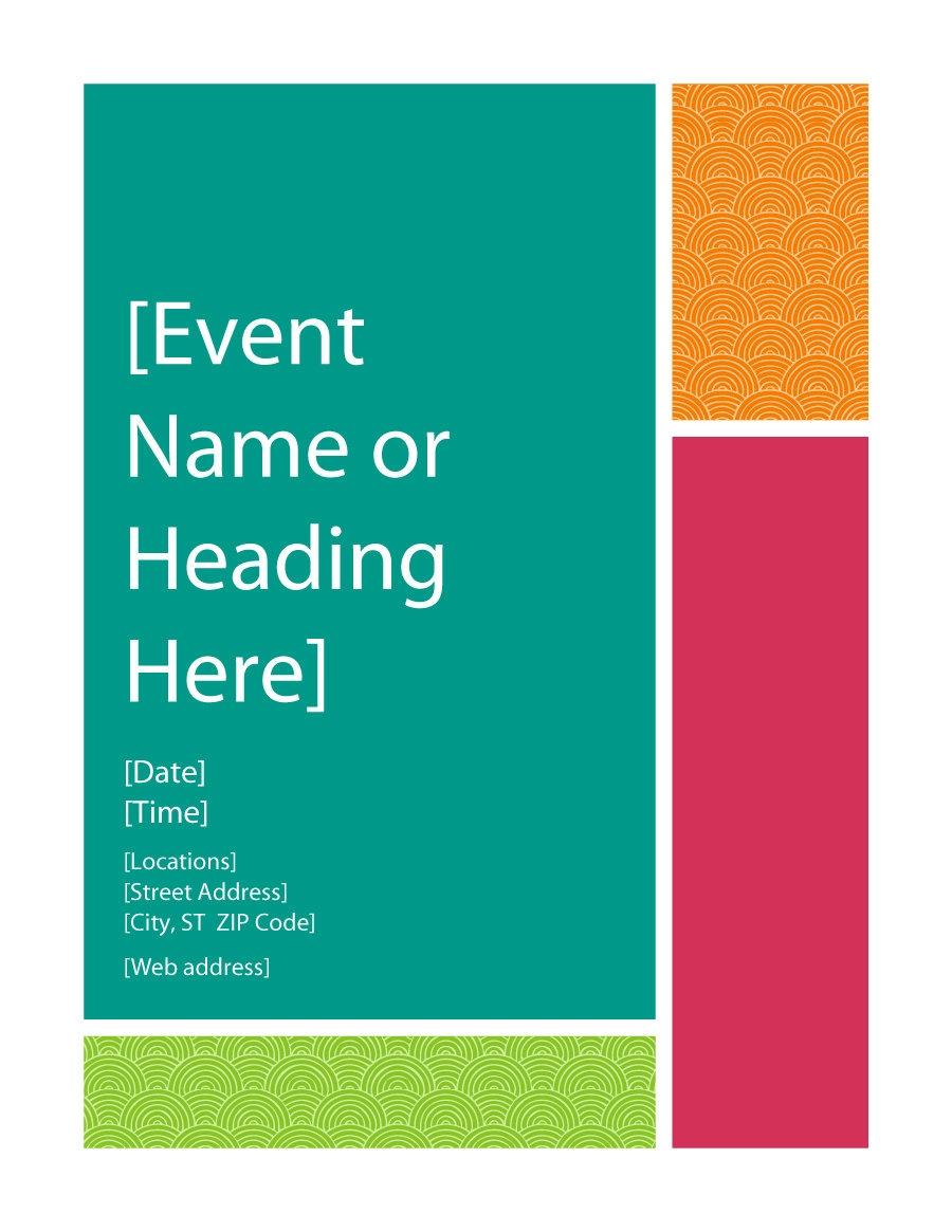 Printable Poster Templates - Tutlin.psstech.co - Free Printable Flyer Templates