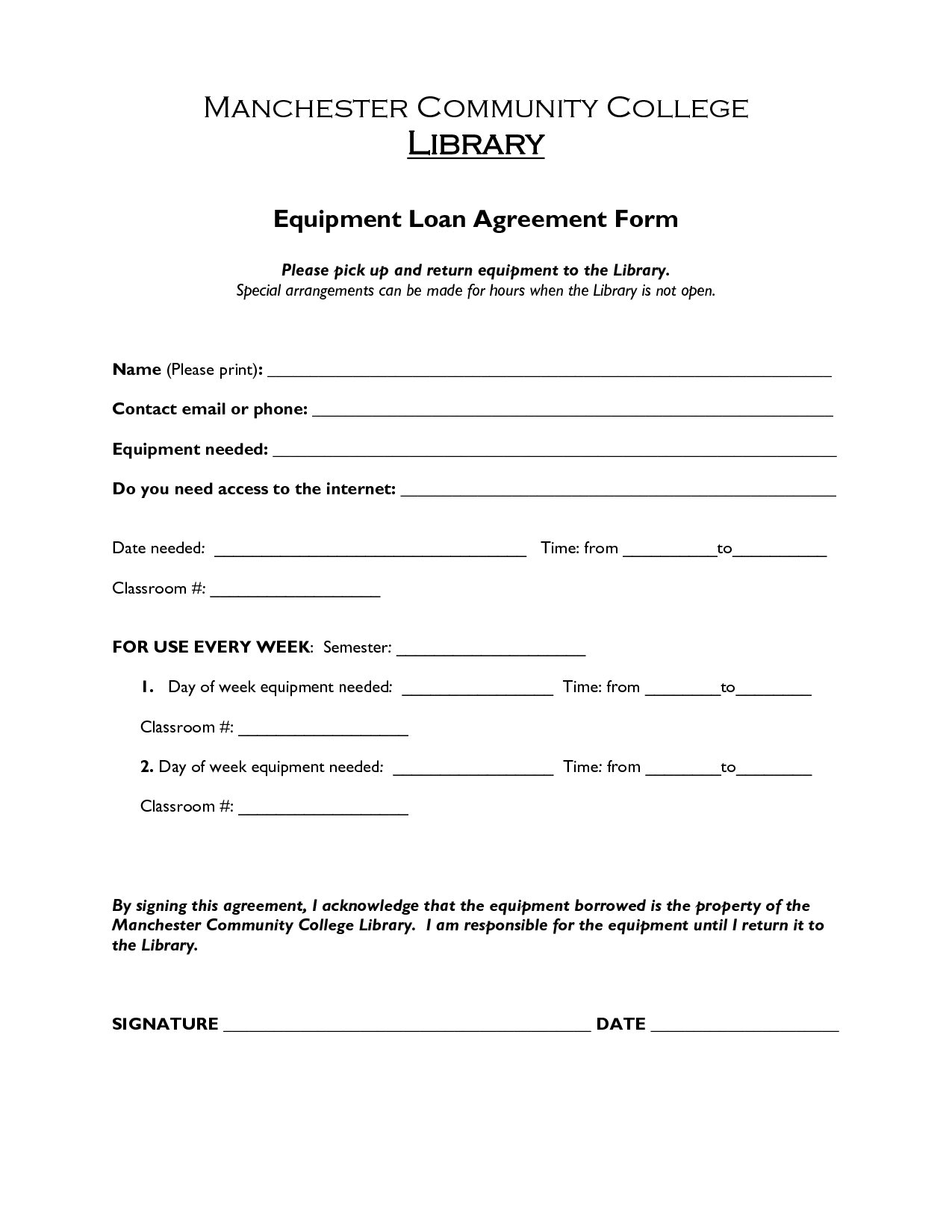 Printable Sample Loan Agreement Form Form | Laywers Template Forms - Free Printable Loan Forms