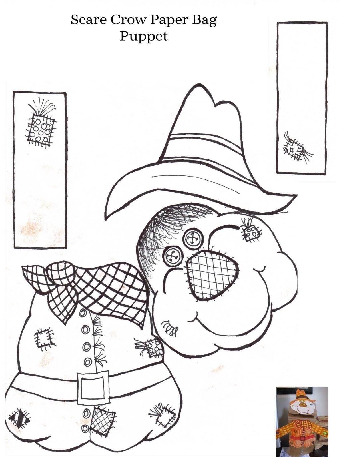 Printable Scarecrow Patterns   Aussie Pumpkin Patch: Mr Scarecrow's - Free Scarecrow Template Printable