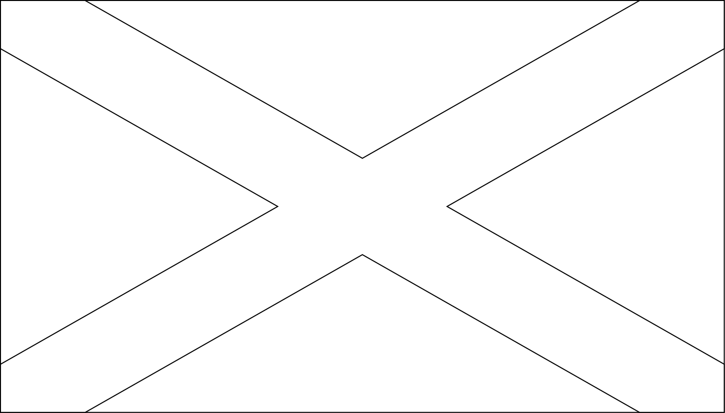 Printable Scotland Flag Coloring Worksheet | Flag Stickers And More - Free Printable Scottish Flag