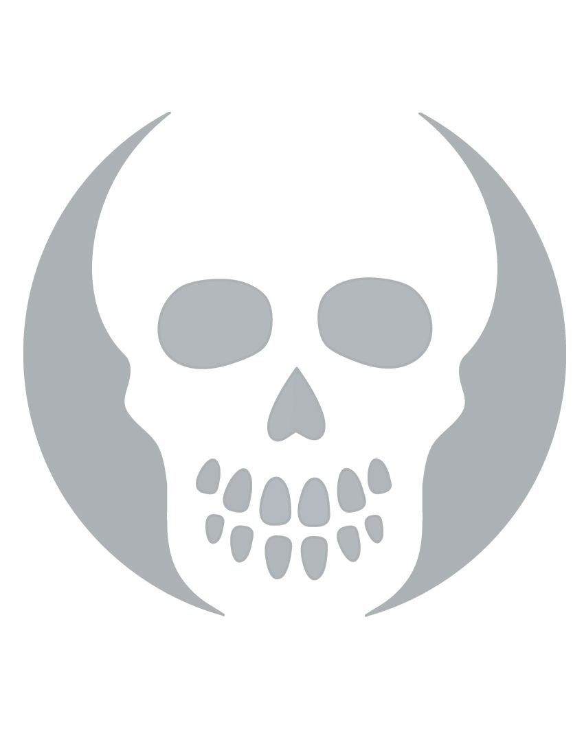 Printable Skull Stencil Coolest Free Printables   Halloween   Skull - Pumpkin Cutouts Printable Free