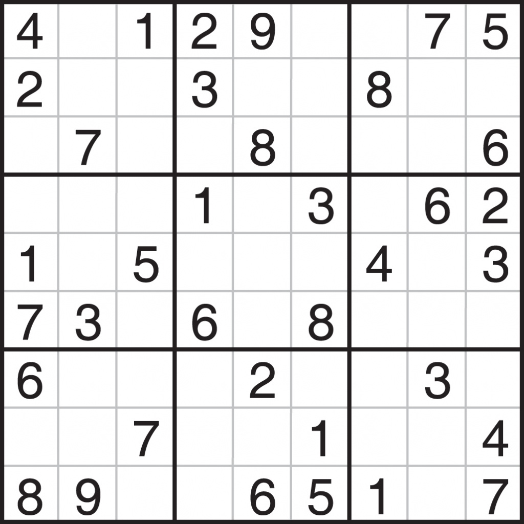 Printable Sudoku 4 Per Page Easy | Printable Sudoku Free - Free Printable Sudoku 4 Per Page