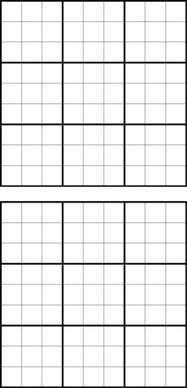 Printable Sudoku Grids - Have Fun Anytime - Free Printable Sudoku 6 Per Page