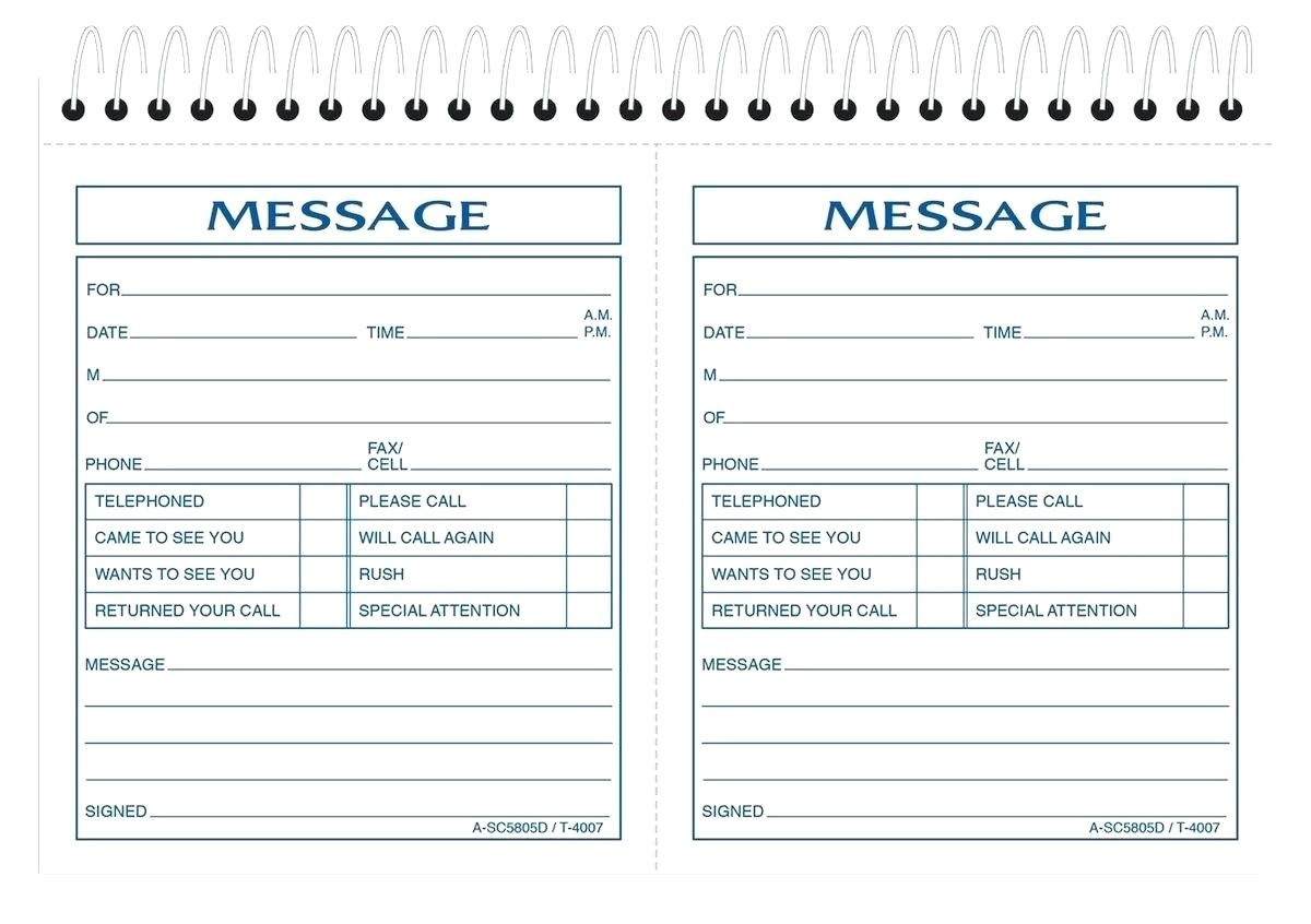 Printable Telephone Message Template Free Phone 10 | 4Gwifi - Free Printable Phone Message Template