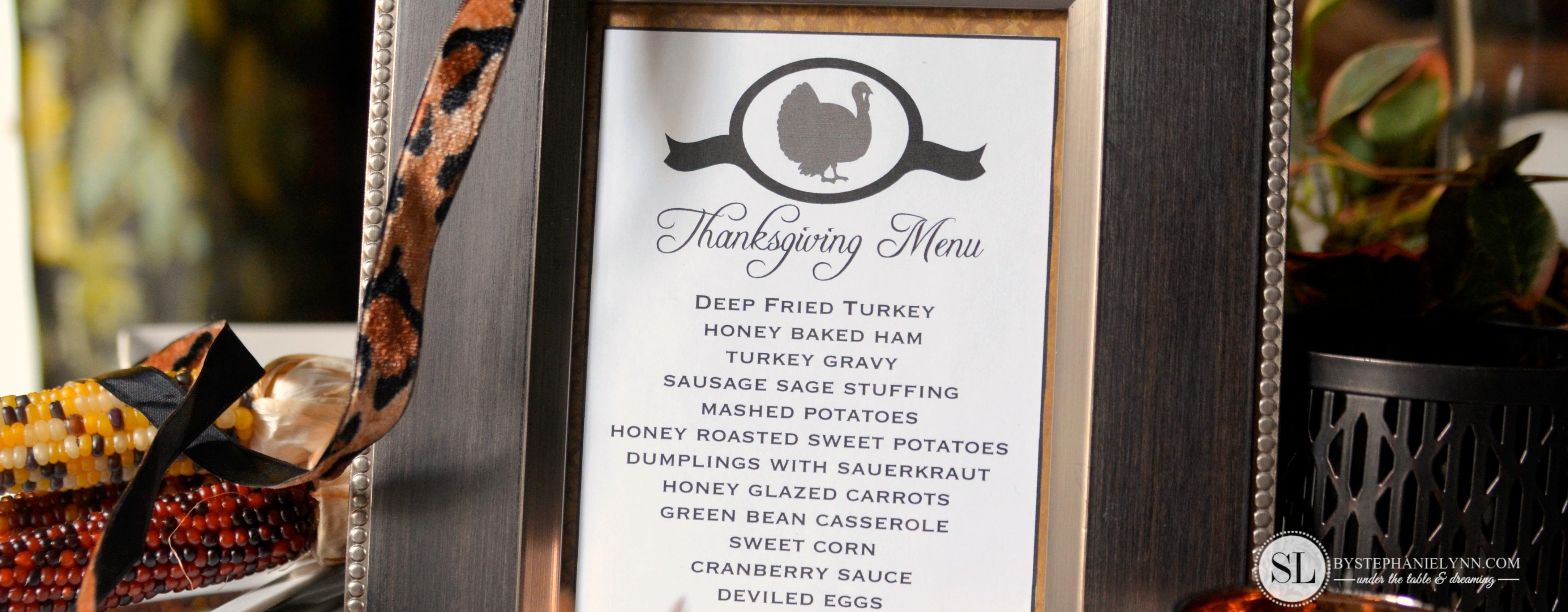 Printable Thanksgiving Menu Template   Making Printables With The - Free Printable Thanksgiving Menu Template