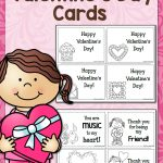 Printable Valentine's Day Cards   Mamas Learning Corner   Free Printable Valentines Day Cards Kids