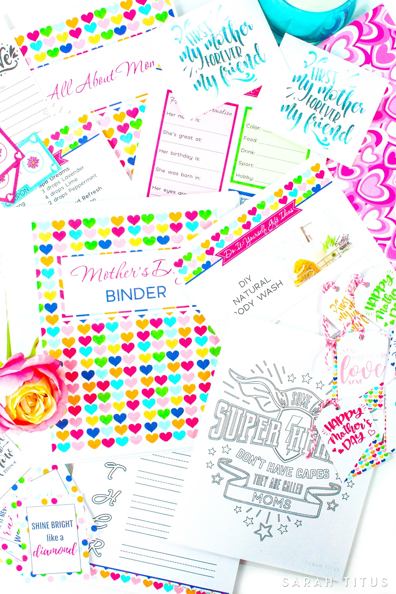 Random Acts Of Kindness Free Printable Cards - Sarah Titus - Free Printable Kindness Cards