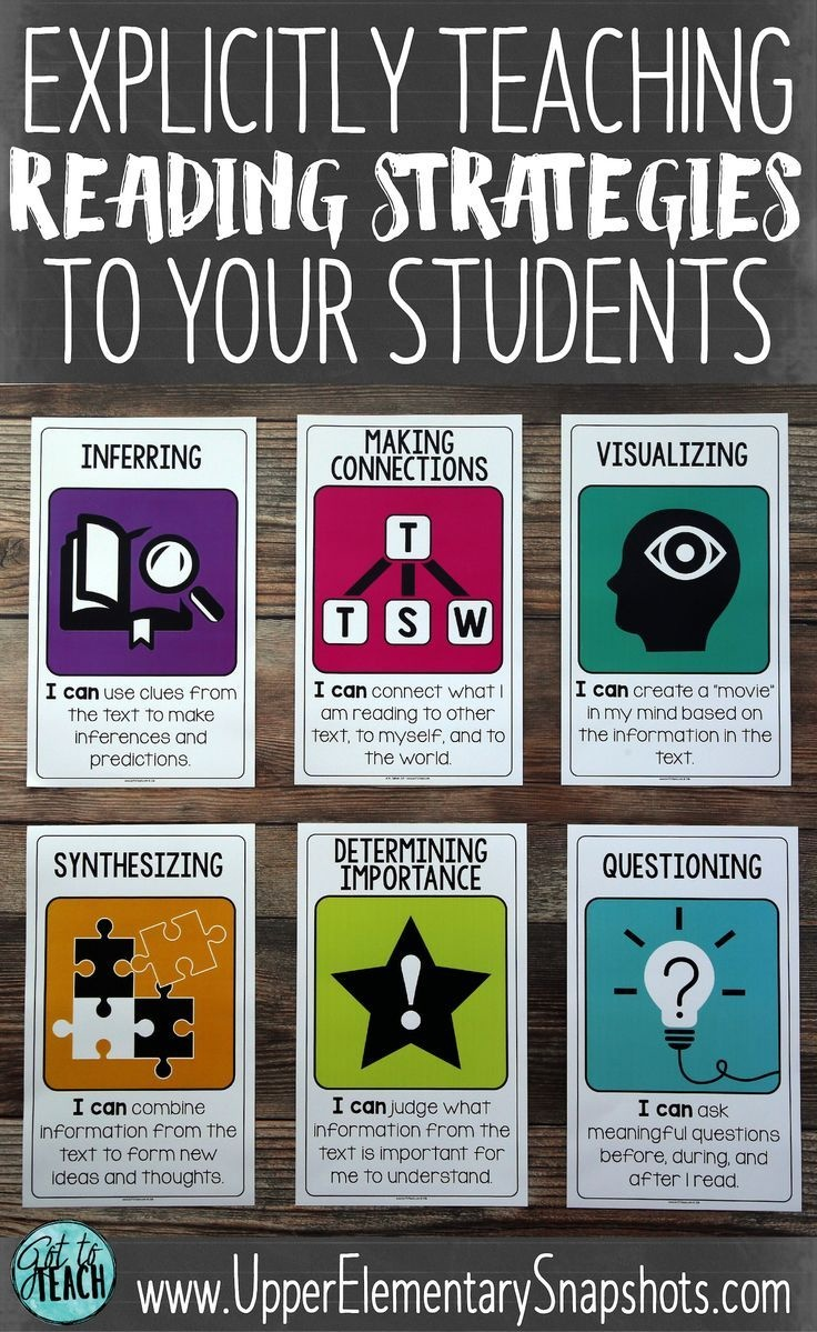Reading Strategies That Work! | Free Teaching Resources | Teaching - Literacy Posters Free Printable