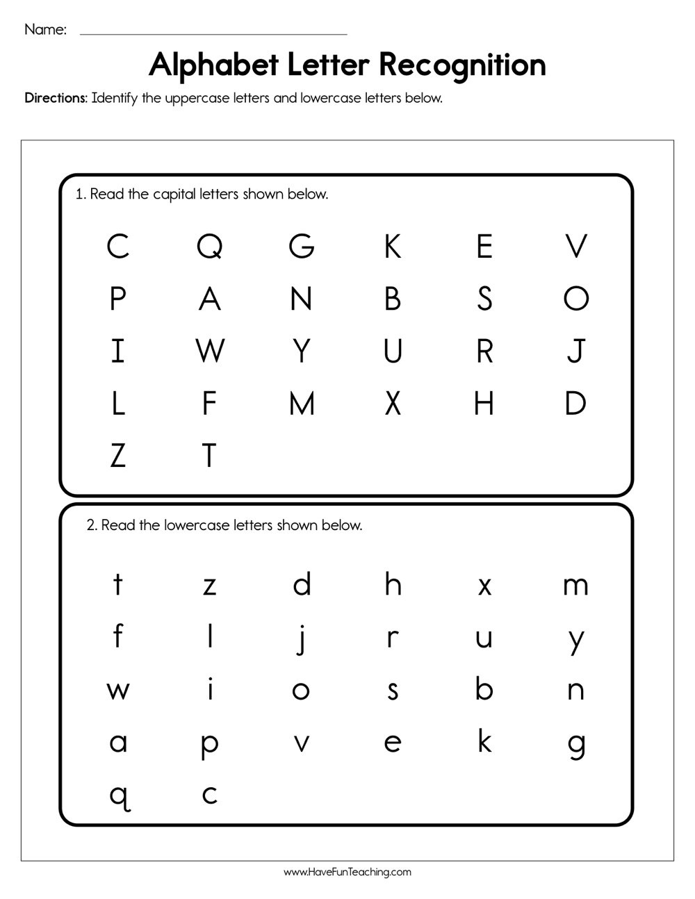 Resources | Phonics | Worksheets - Free Printable Phonics Assessments