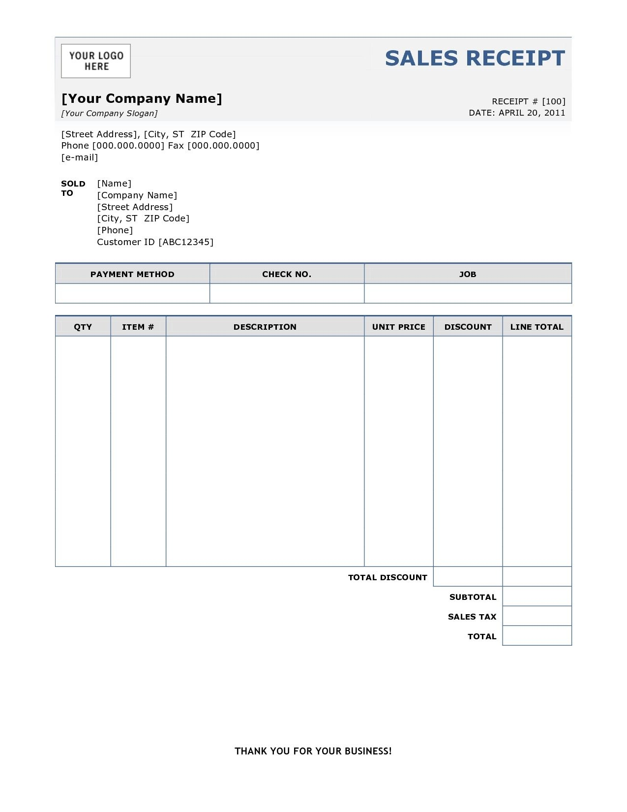 Sample Of Invoice Receipt Free Printable Invoice Sample Of Invoice - Free Printable Invoices