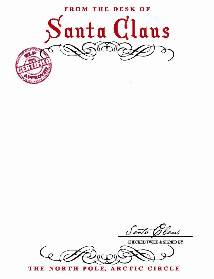 Free Santa Templates Printable