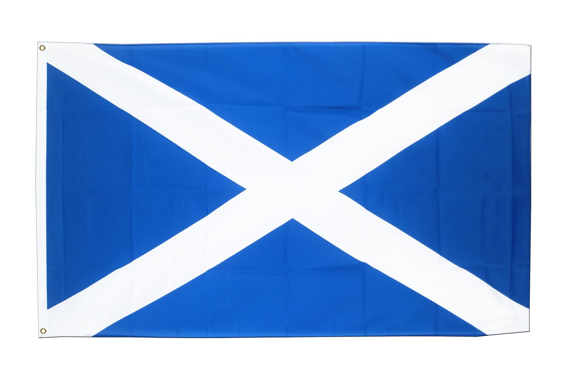 Scotland Flag Colors. Bandera De Escocia Dibujo Para Colorear - Free Printable Scottish Flag