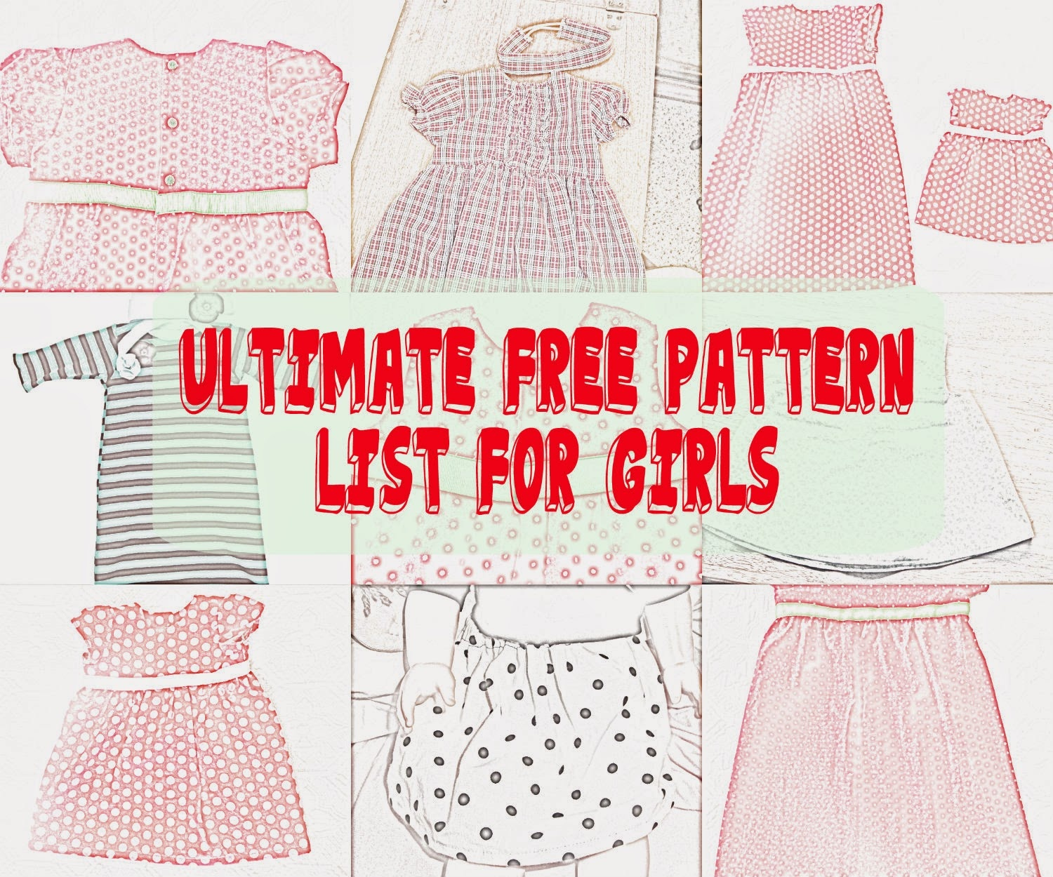 Seemesew: Free Girl Patterns - Free Printable Toddler Dress Patterns