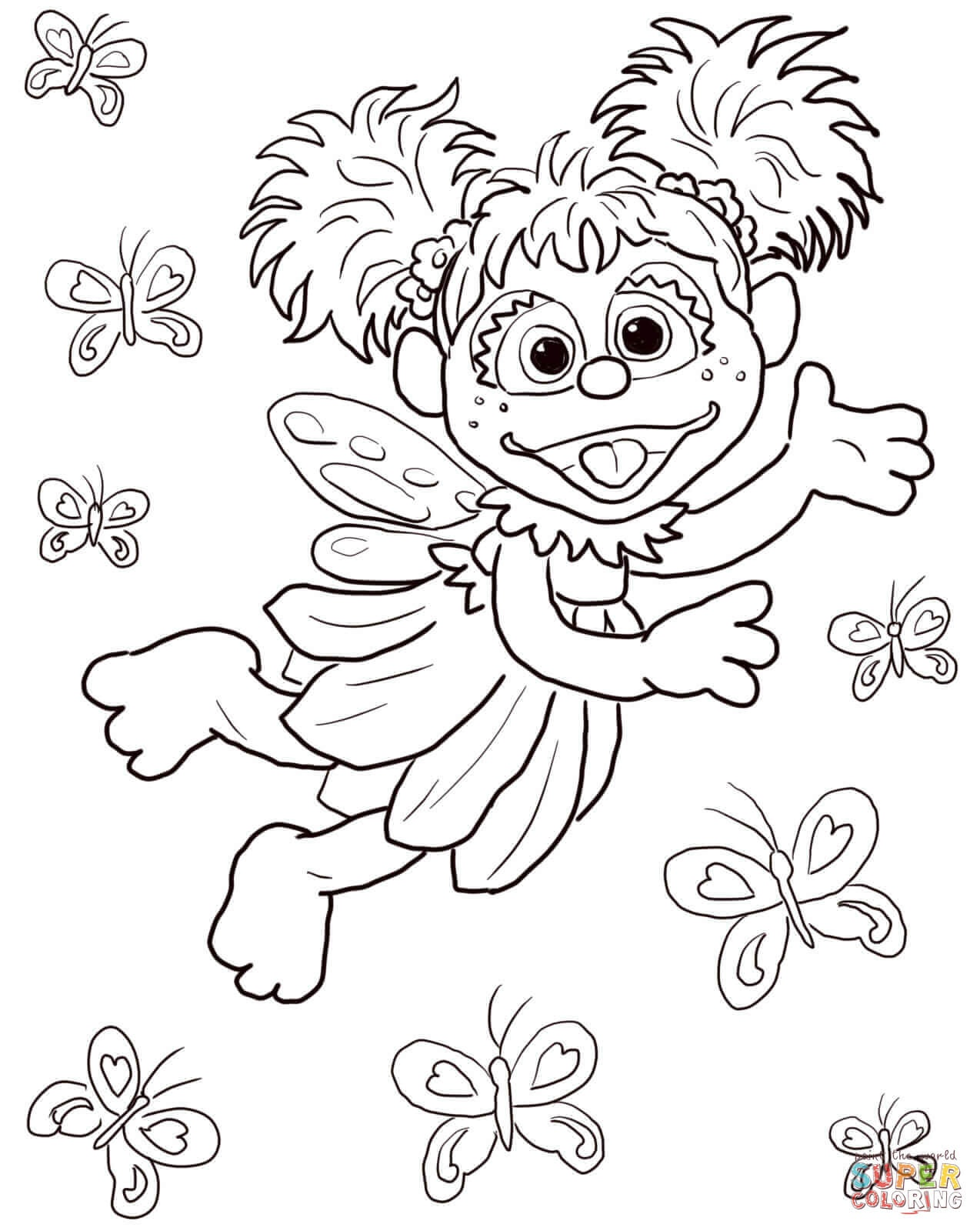 Sesame Street Coloring Pages | Free Coloring Pages - Free Printable Sesame Street Coloring Pages