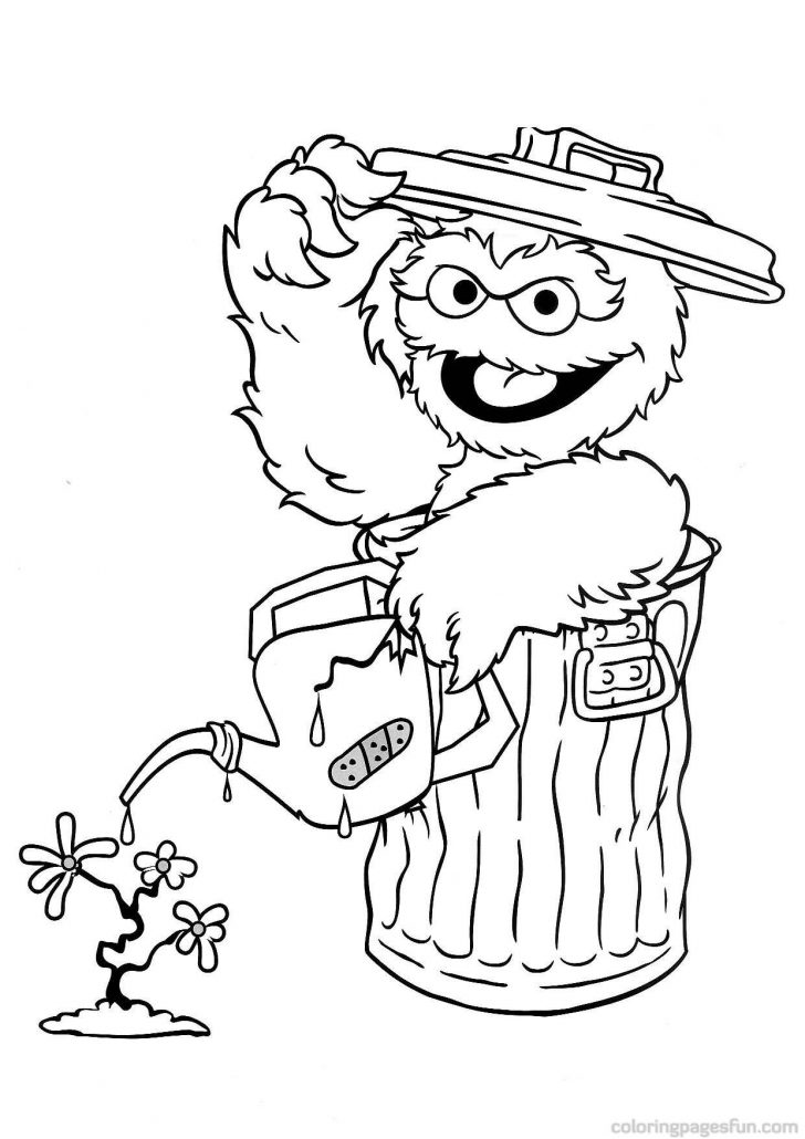Free Printable Sesame Street Coloring Pages