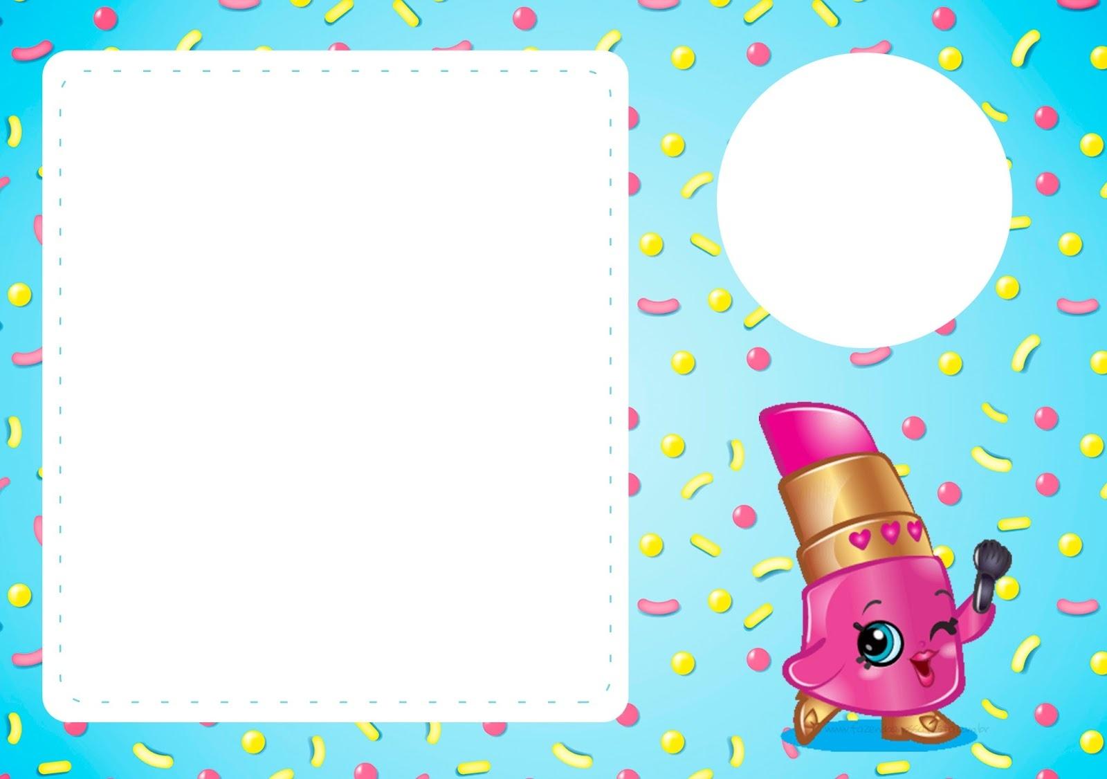 Shopkins: Free Printable Invitations. - Oh My Fiesta! In English - Free Printable Invitations