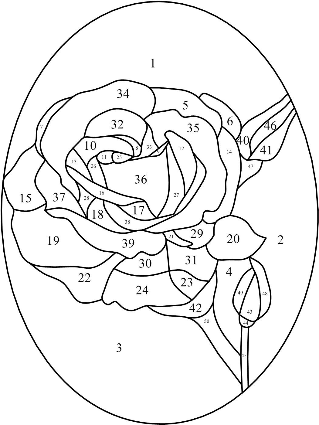 Simple Stained Glass Patterns Printable | Click To Print ; Resize To - Free Printable Stained Glass Patterns