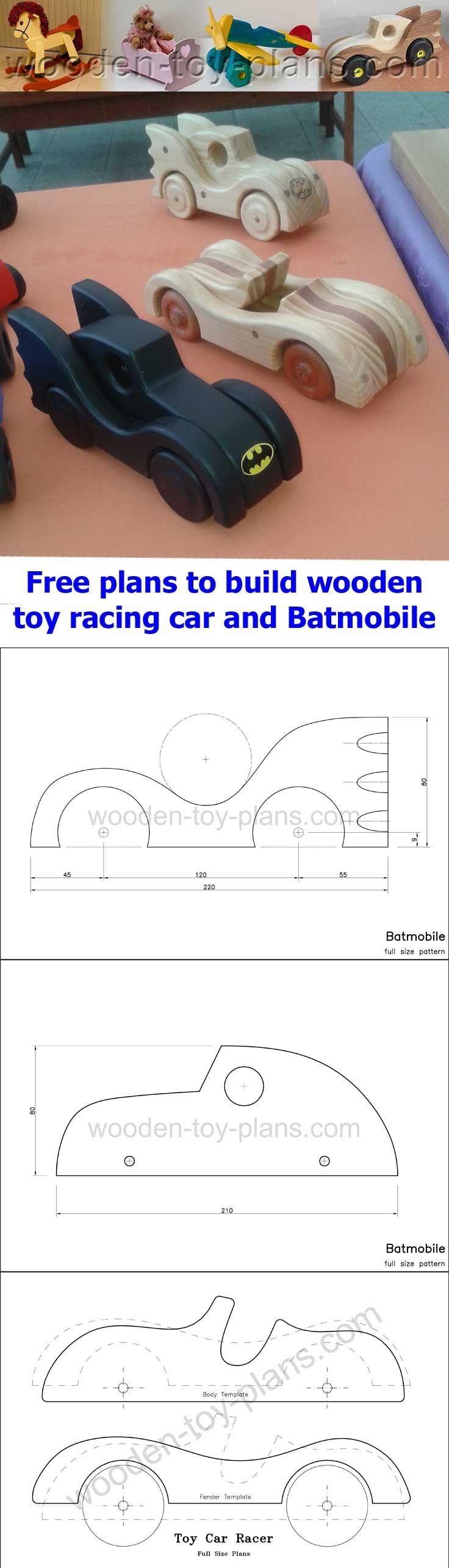 Simple Woodworking Project Free Printable Full Size Patterns Toy - Free Wooden Toy Plans Printable