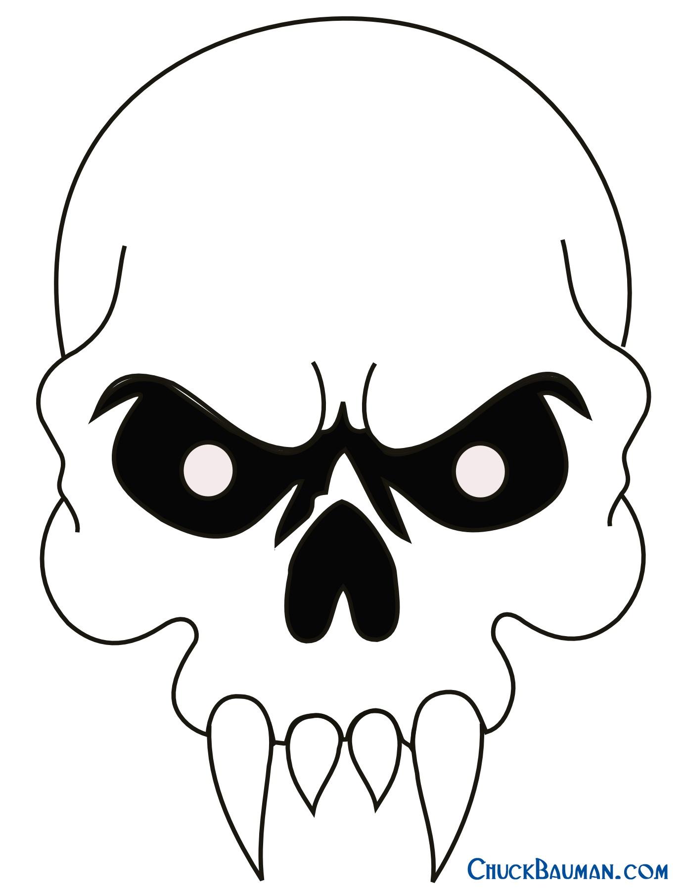 Skulls Airbrushing - Free Skull Airbrushing Stencils - Free - Skull Stencils Free Printable