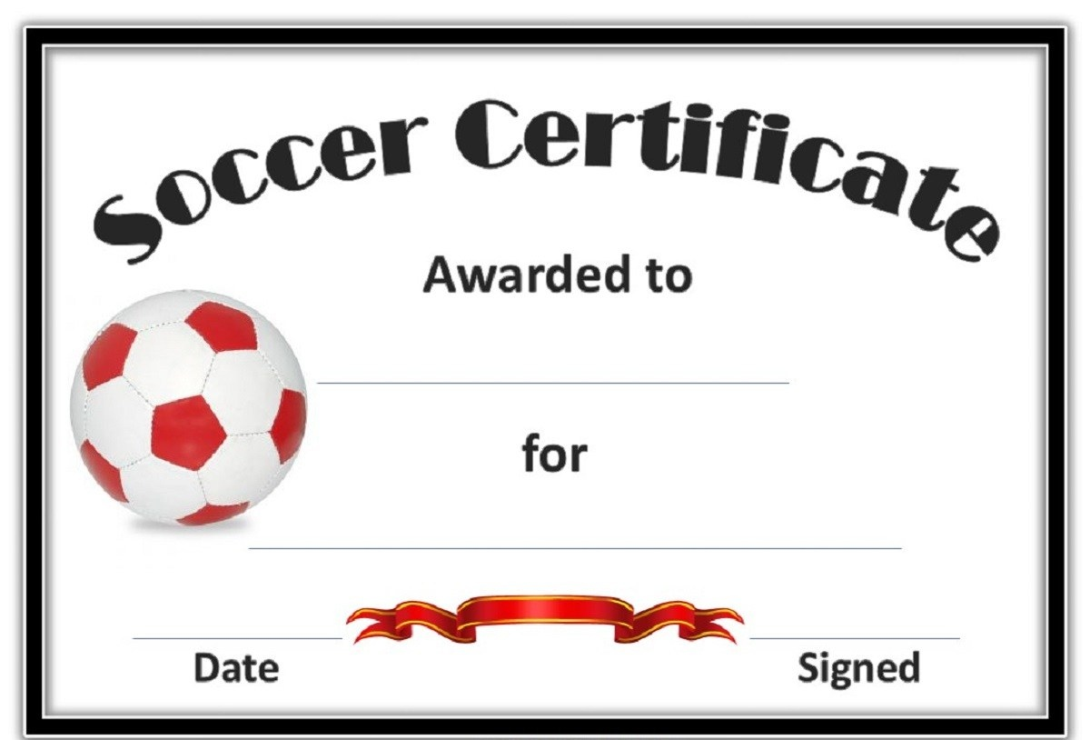 Soccer Certificate Template. Apache Server At Certificatetemplate - Free Soccer Award Certificates Printable