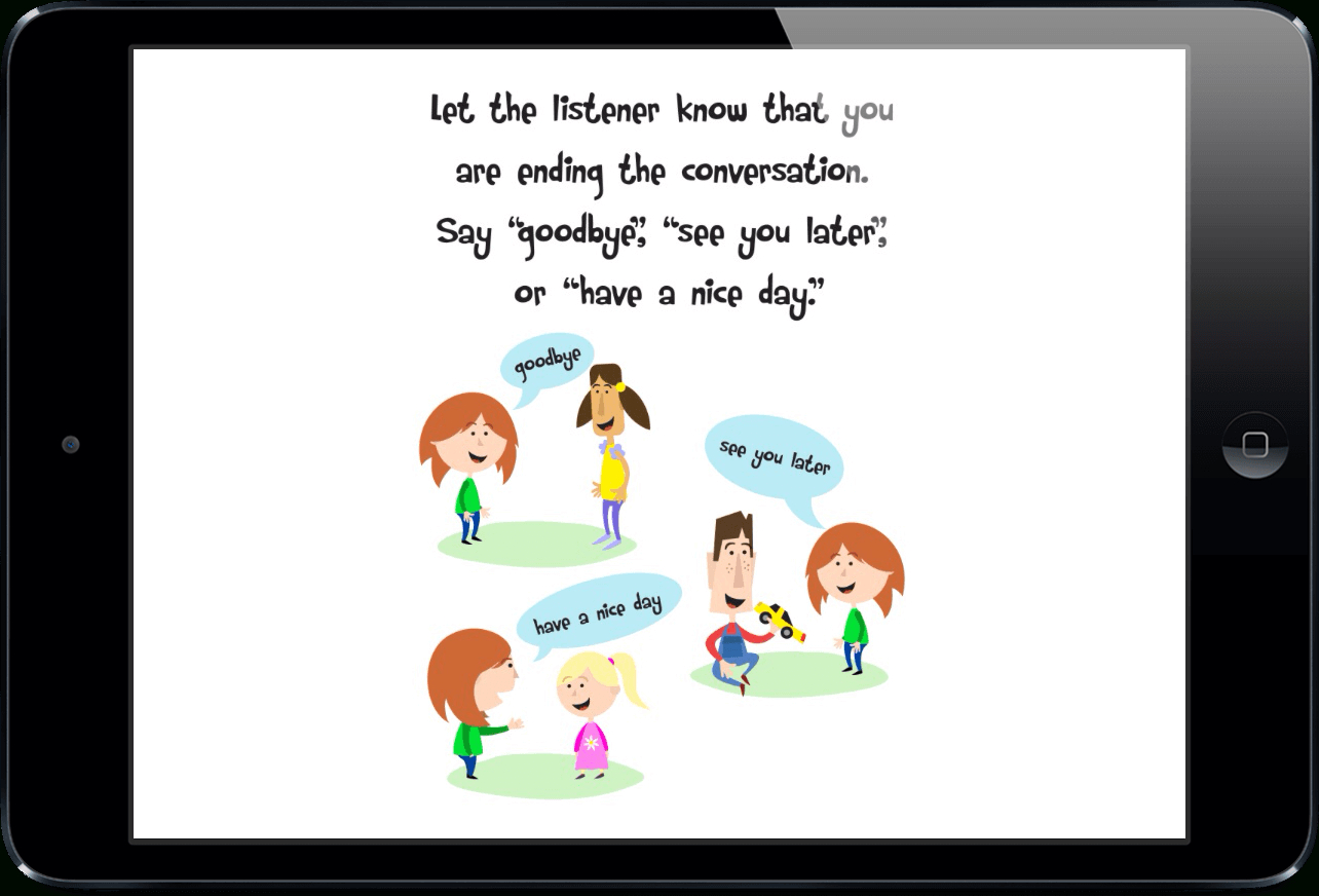 Social Stories For Teaching Conversation Skills To Childrentouch Autism - Free Printable Social Stories