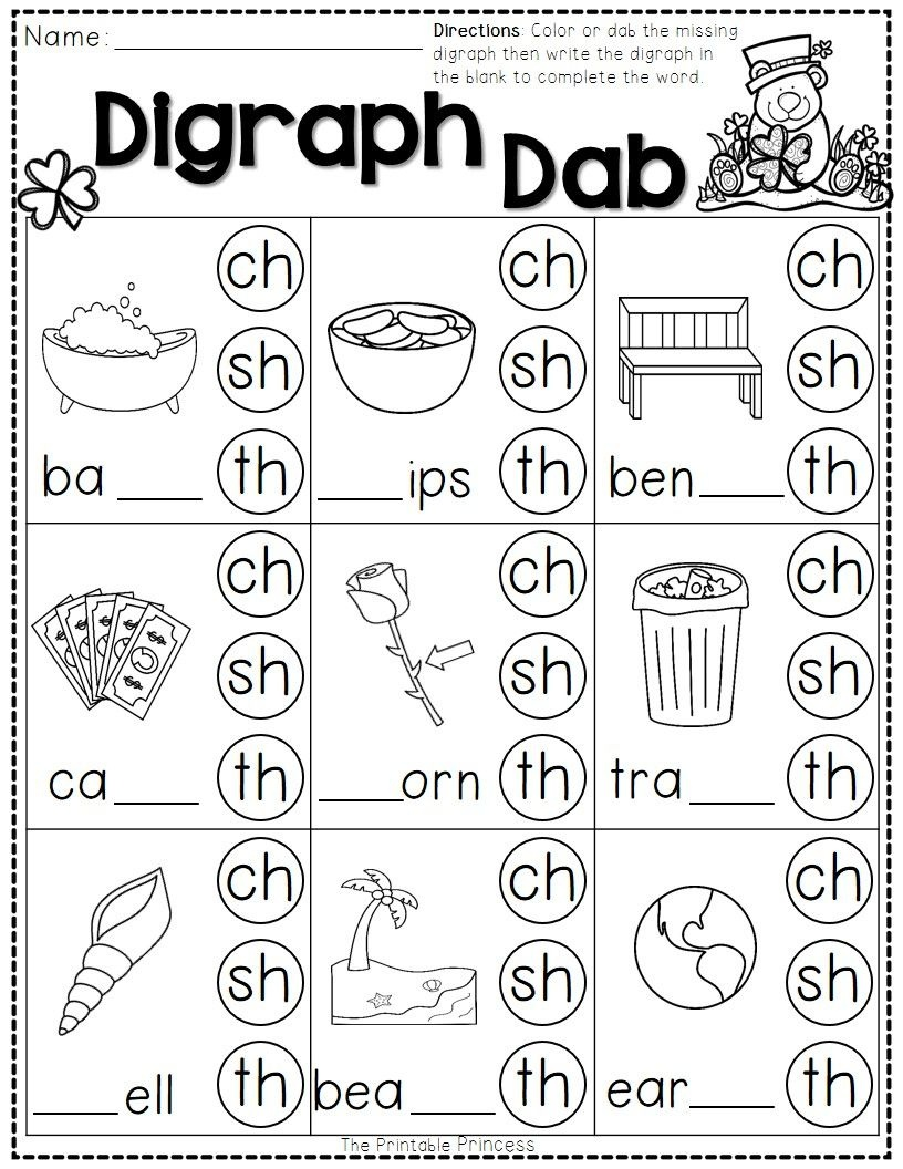 St. Patrick's Day Math And Literacy No Prep Freebie | Reading - Sh Worksheets Free Printable