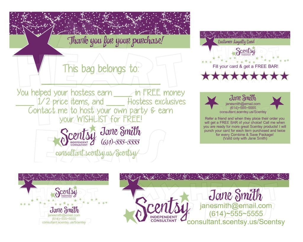 Standard Printable Scentsy Business Cards Online   Business Cards - Free Printable Scentsy Business Cards