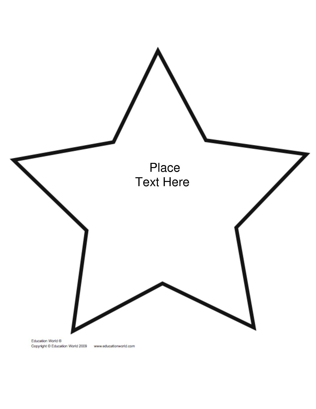 Star Outline Printable | Free Download Best Star Outline Printable - Large Printable Shapes Free