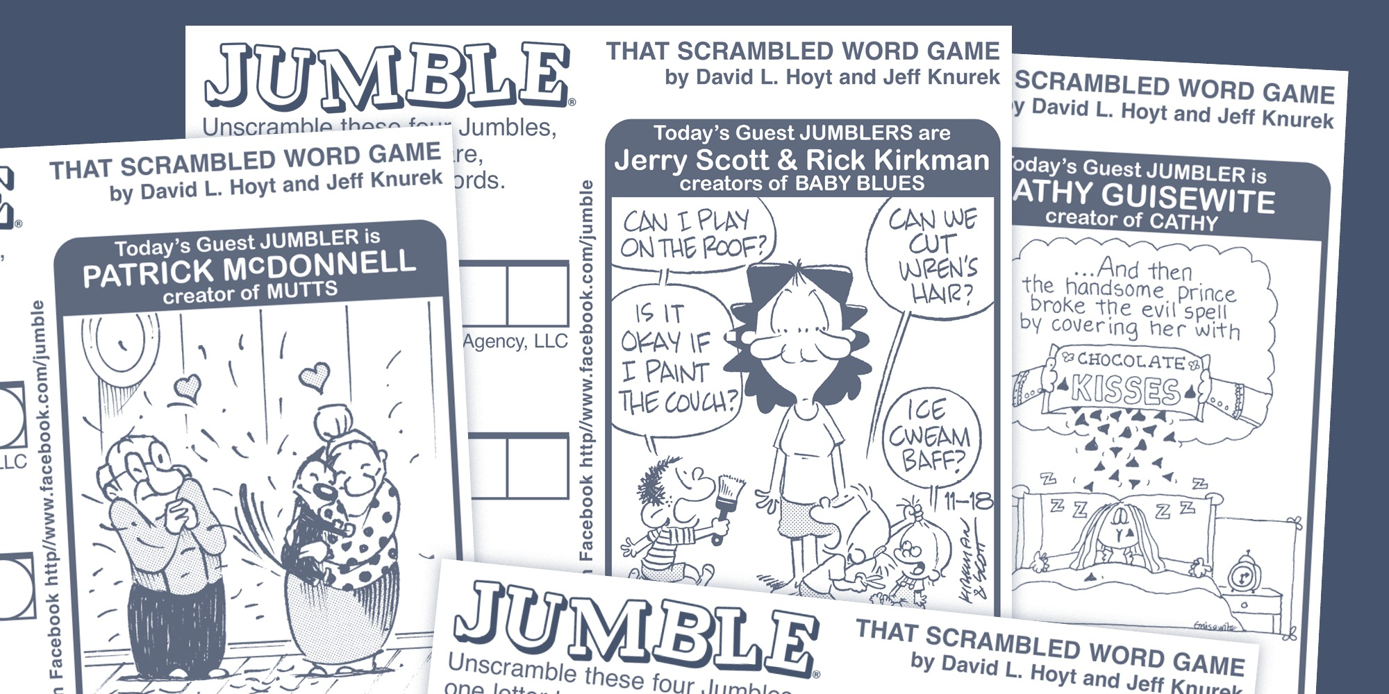 Sunday Jumble Available For Syndication And Licensing - Tribune - Jumble Puzzle Printable Free