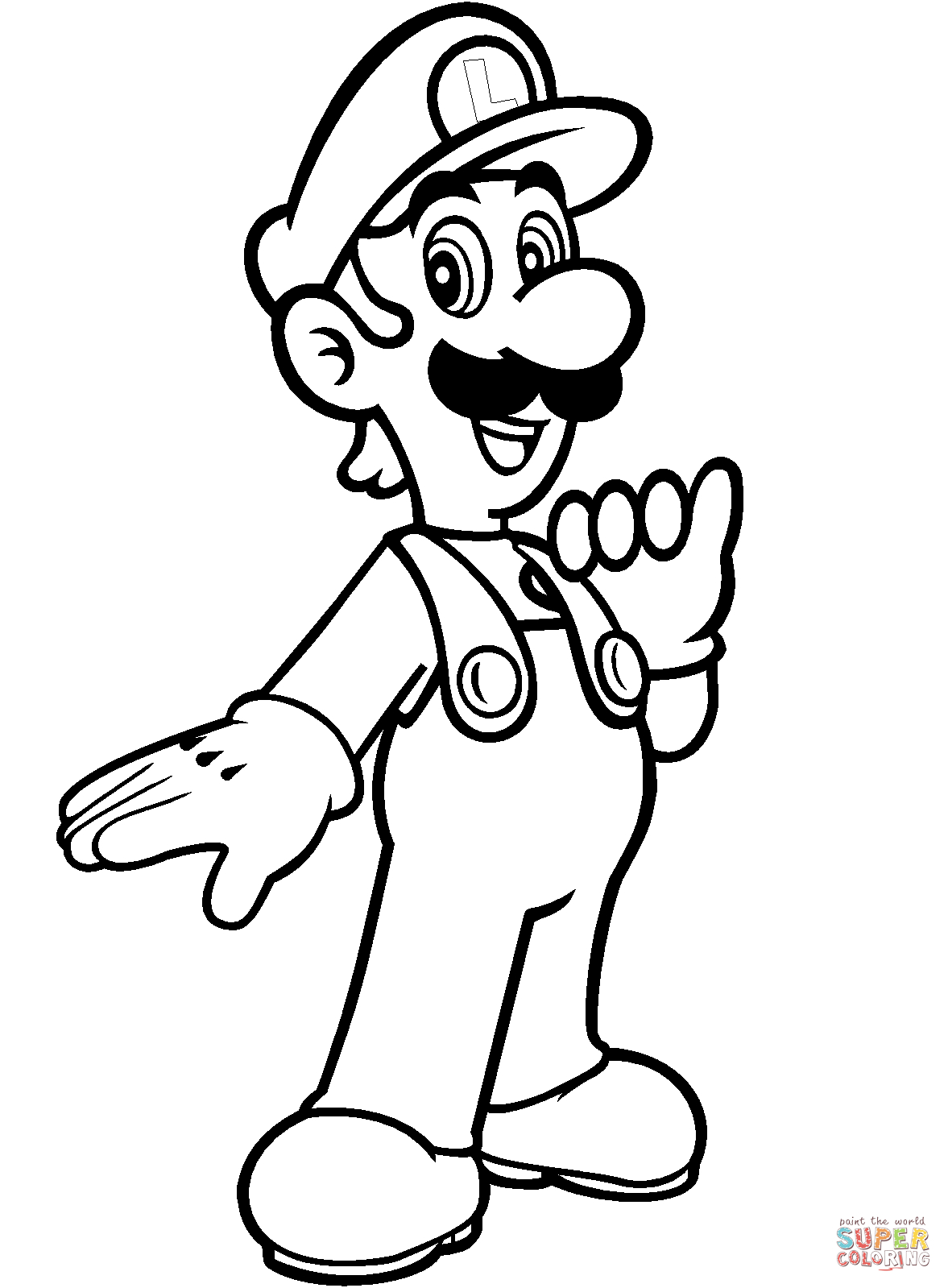 Super Mario Bros. Coloring Pages | Free Coloring Pages - Mario Coloring Pages Free Printable