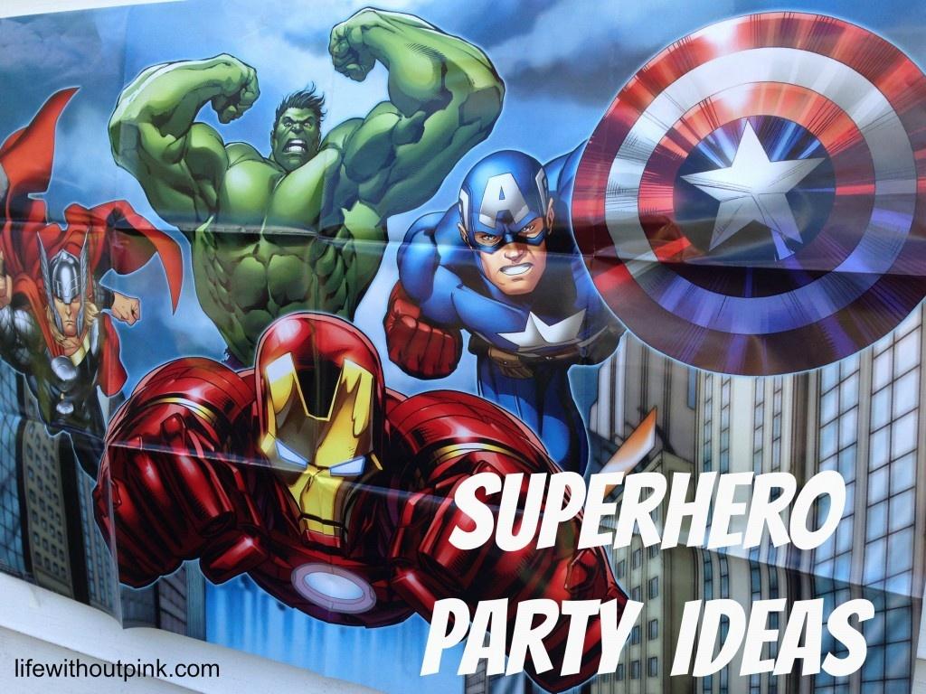 Superhero Birthday Party Ideas {With Free Printables!}   Life - Free Printable Avengers Birthday Party Invitations