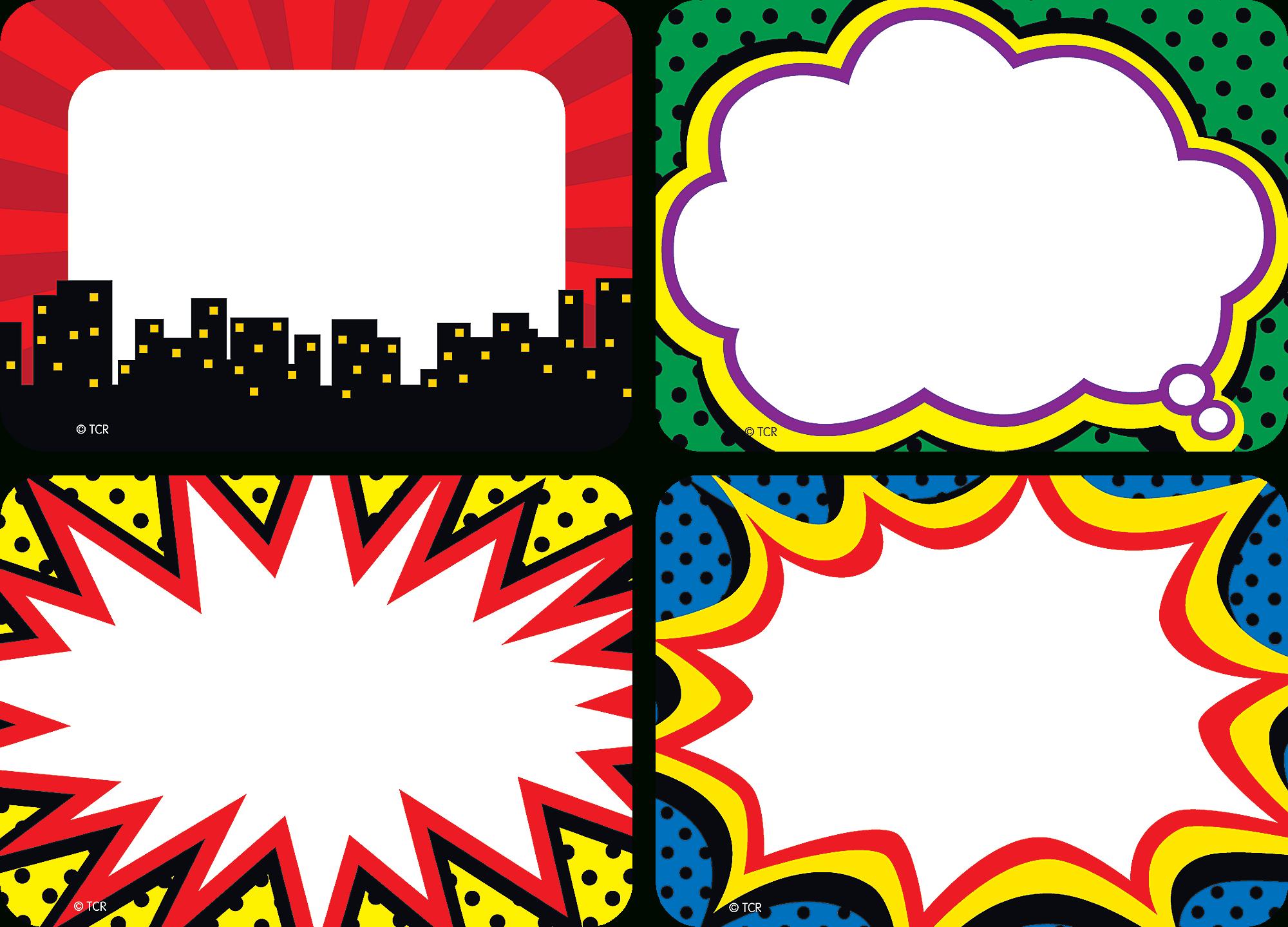 Superhero Name Tags/labels - Multi-Pack   Name Tags And Labels - Superhero Name Tags Free Printable