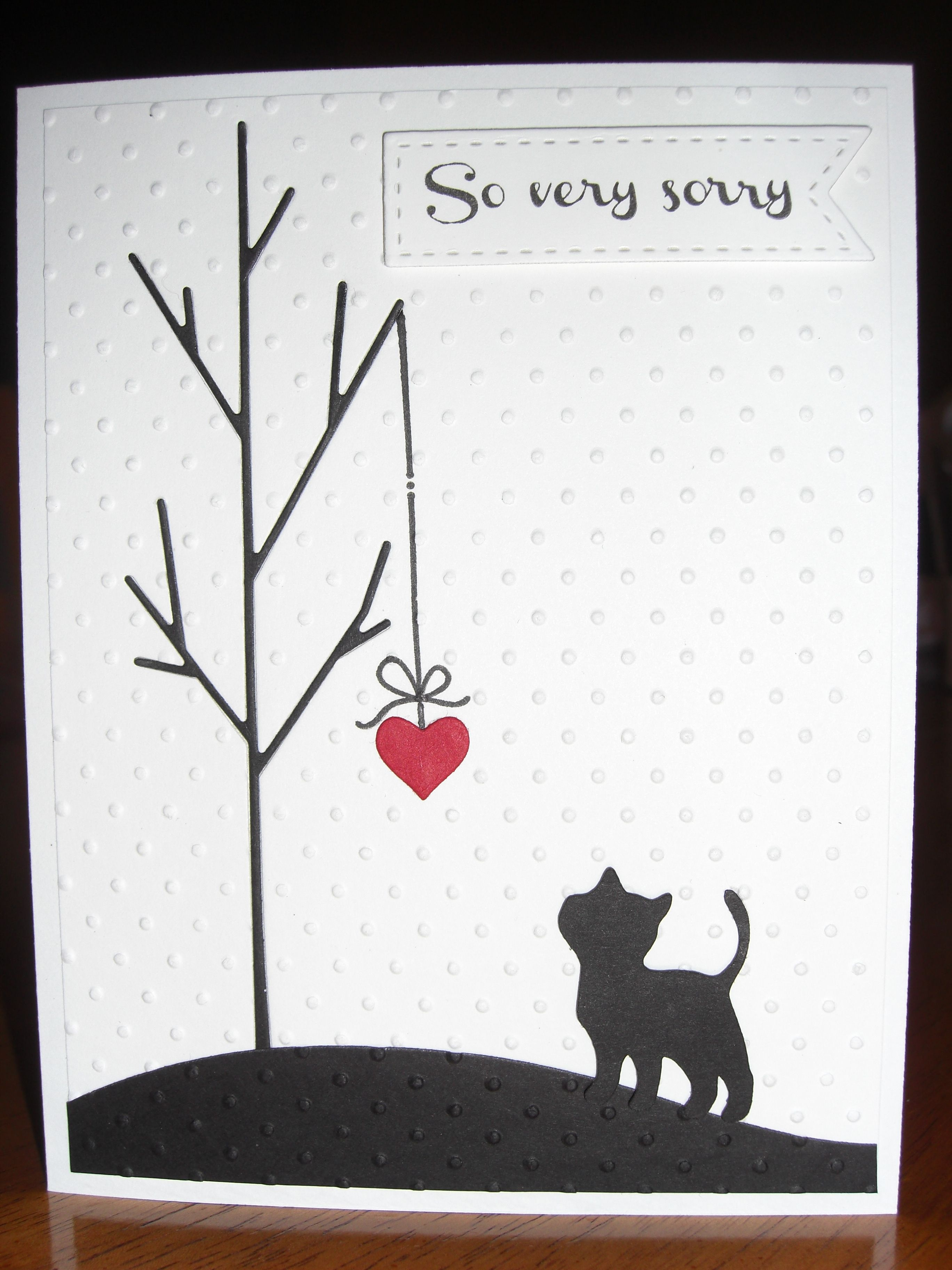 Sympathy Card For Loss Of Family Pet: Simon Says Stamp Tree Die - Free Printable Sympathy Cards For Loss Of Dog