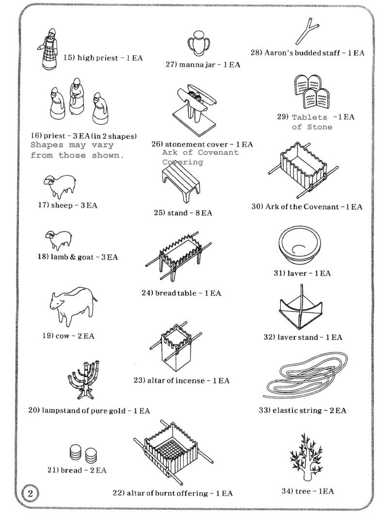 Tabernacle Coloring Pages For Kids   Wonder Kids - Week 5: Ten - Free Printable Pictures Of The Tabernacle