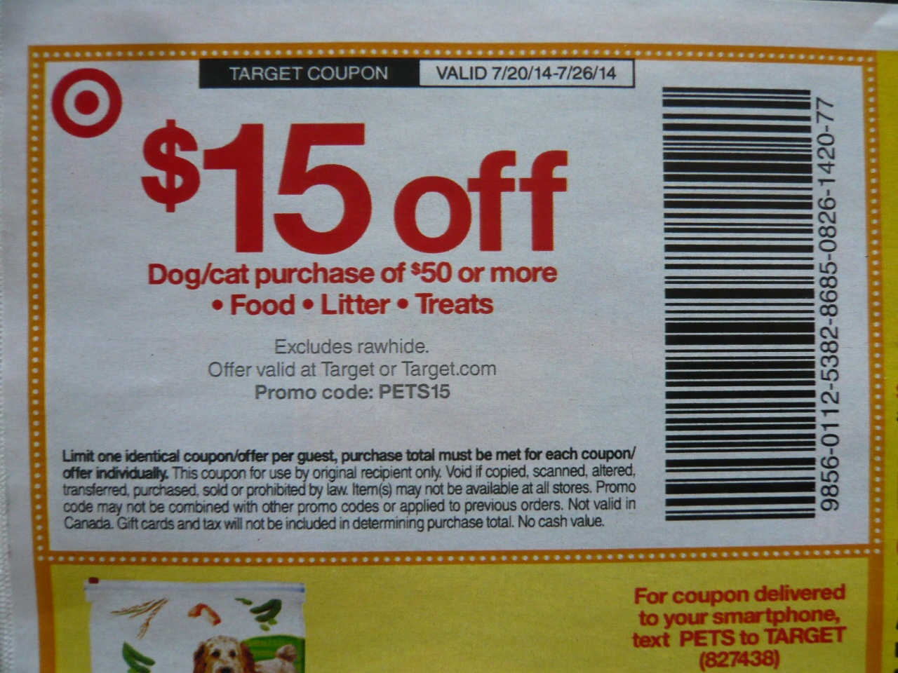 Target: $15/$50 Pet Food, Litter, Treats! Get Ready! List Of - Free Printable Dog Food Coupons