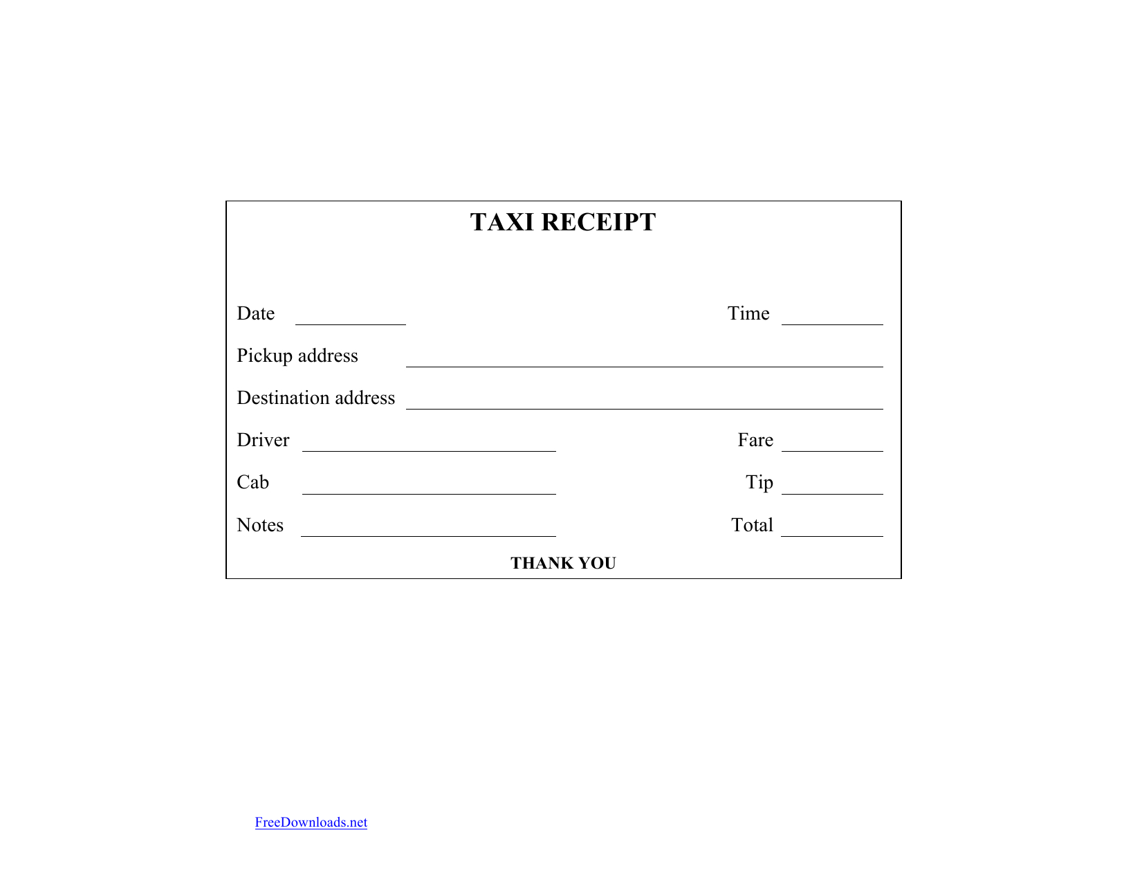 Taxi Cab Receipts Printable - Tutlin.psstech.co - Www Hooverwebdesign Com Free Printables Printable Receipts