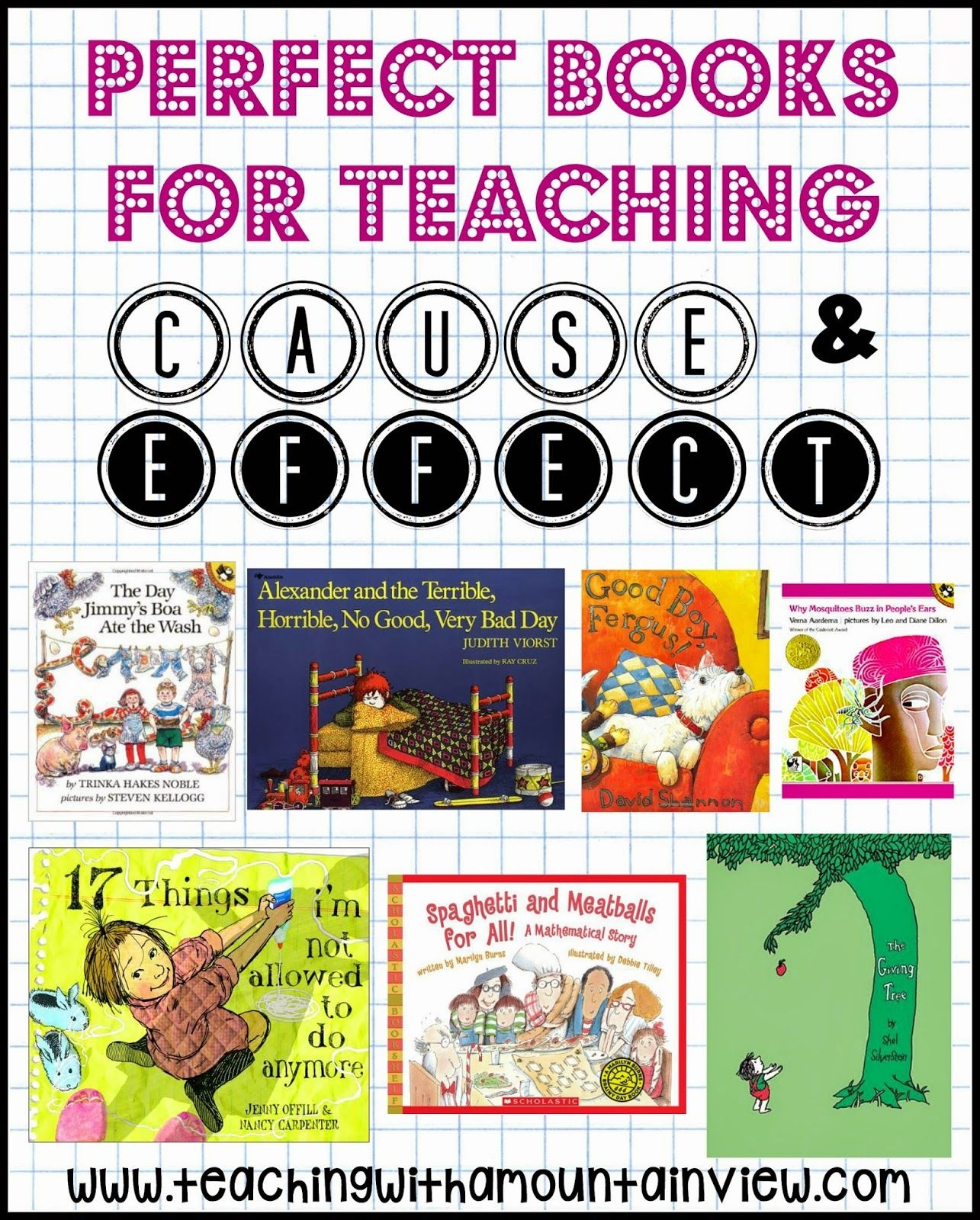 Teaching Cause And Effect In Upper Elementary | Teaching With A - Free Printable Cause And Effect Picture Cards