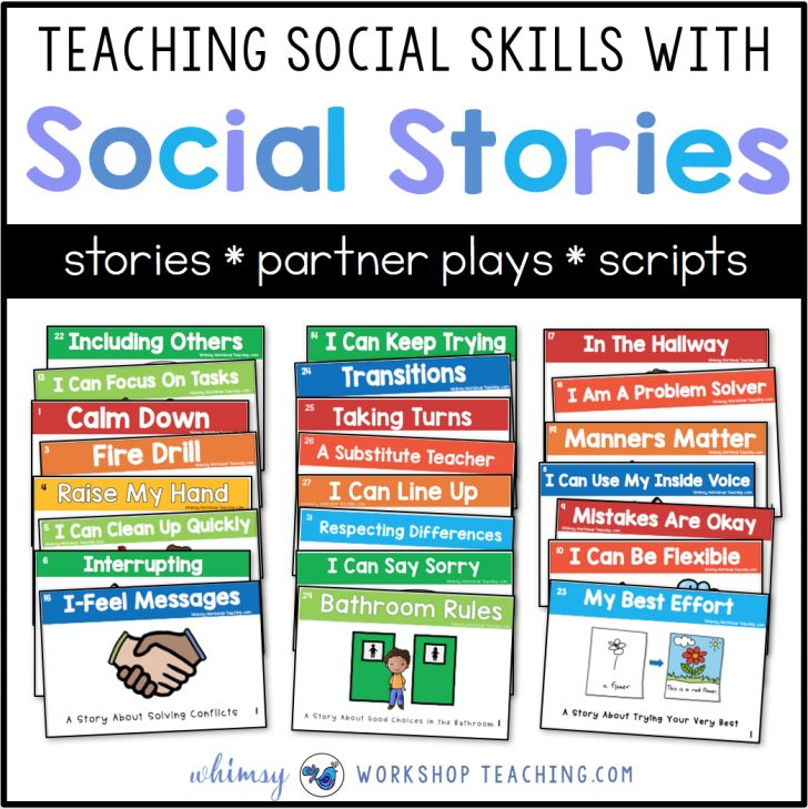Free Printable Social Stories For Kids