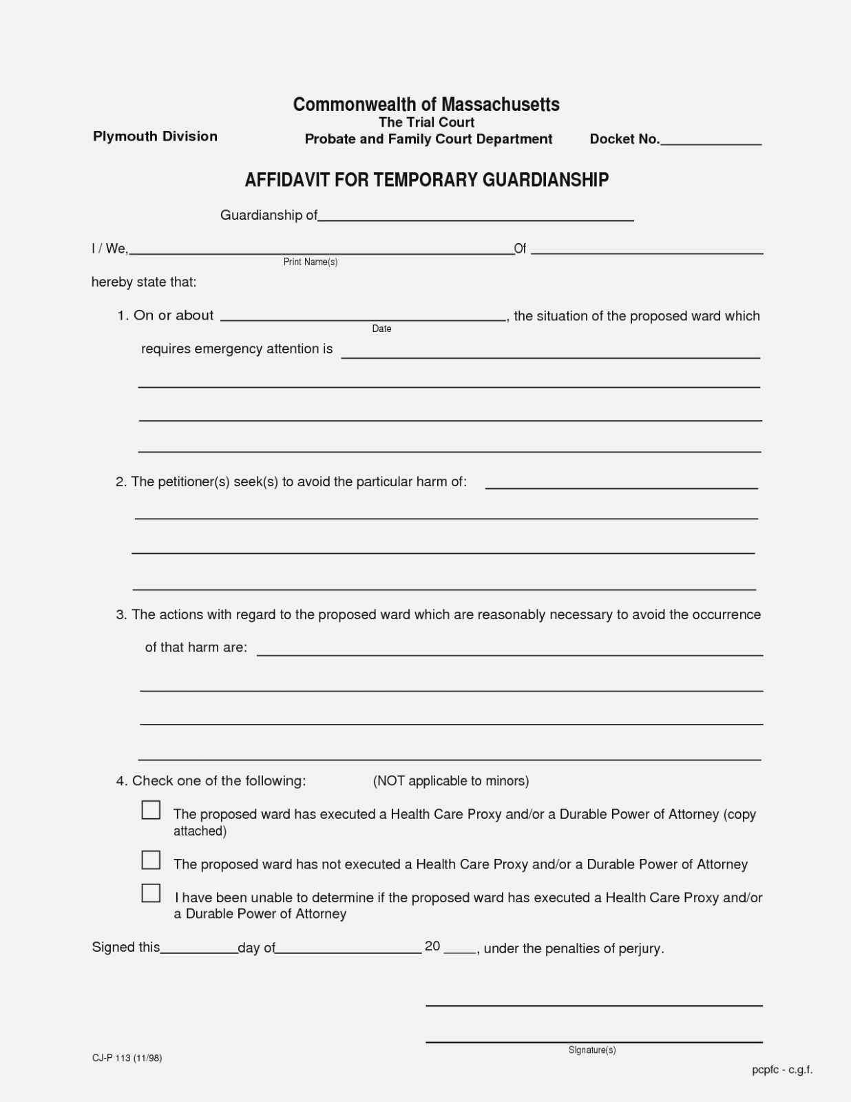Ten Things You Probably | Realty Executives Mi : Invoice And Resume - Free Printable Guardianship Forms