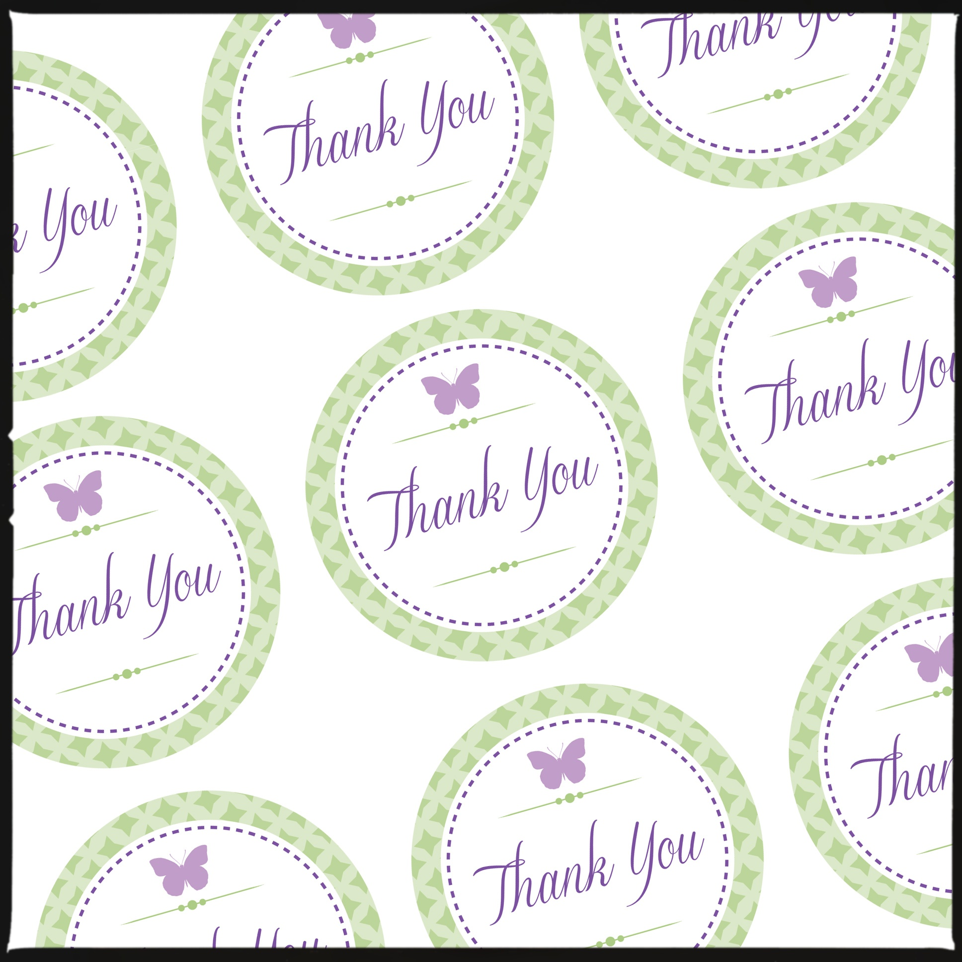 Thank You Tags For Pretty Gift Bags (& A Free Download For You - Free Printable Thank You Tags