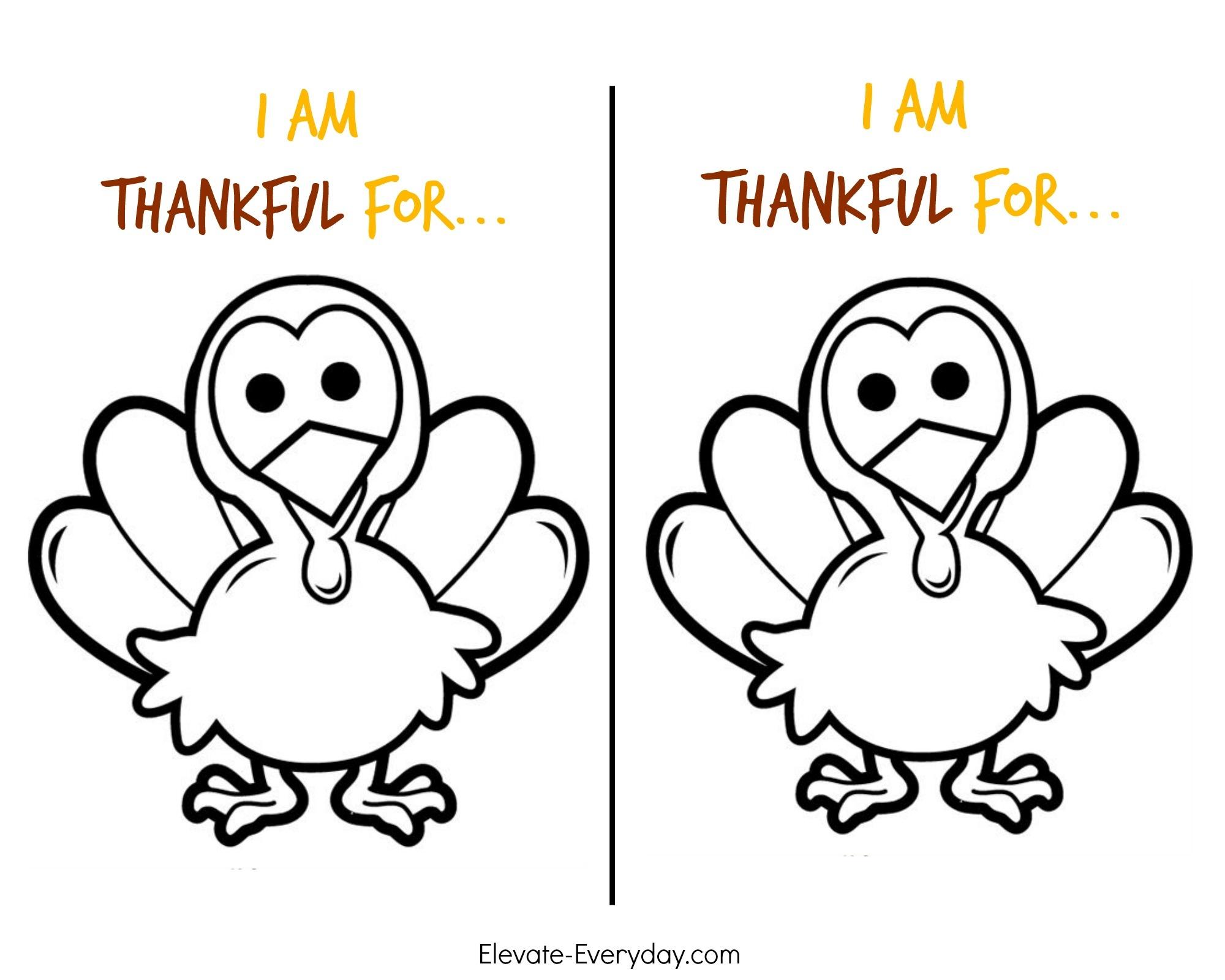 Thankful Turkey Craft + Free Printable | Pollinate Media Group - Free Turkey Cut Out Printable
