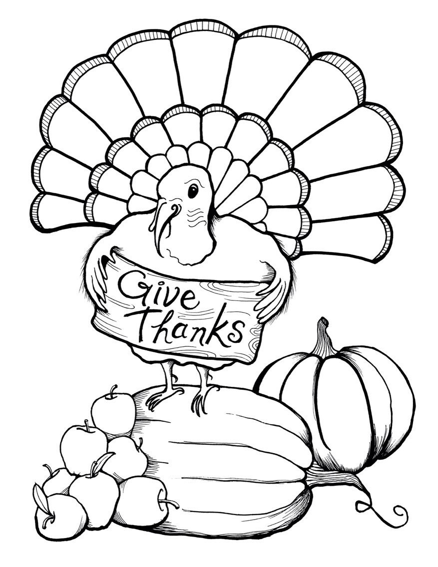 Thanksgiving Coloring Page | Free Printables | Turkey Coloring Pages - Free Printable Turkey Coloring Pages